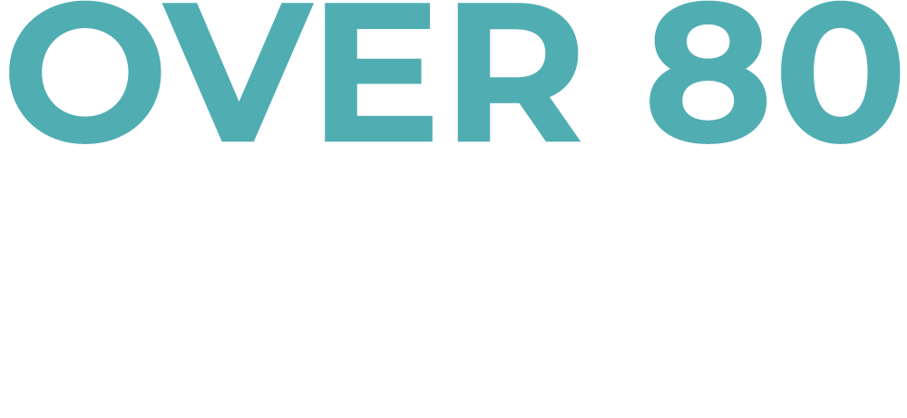 Over 80 healthcare solutions