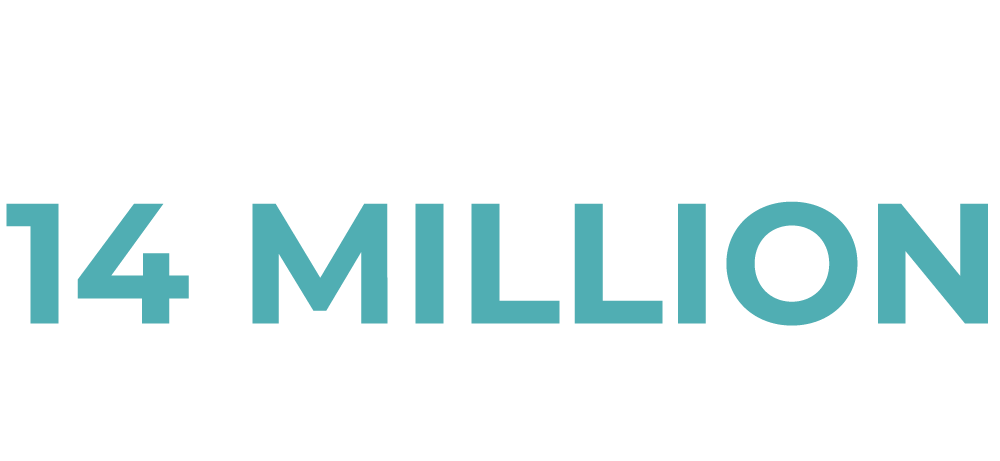 servicing 14 million patients