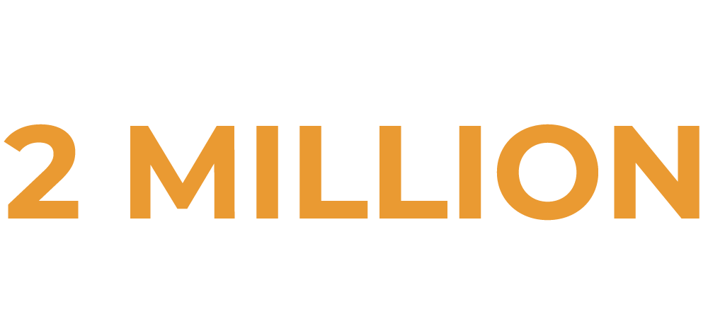 Over 2 million residents served